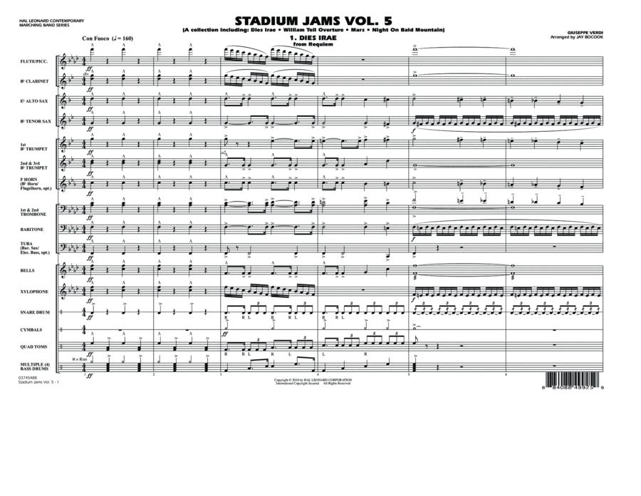 Stadium Jams: Vol. 5 - Full Score