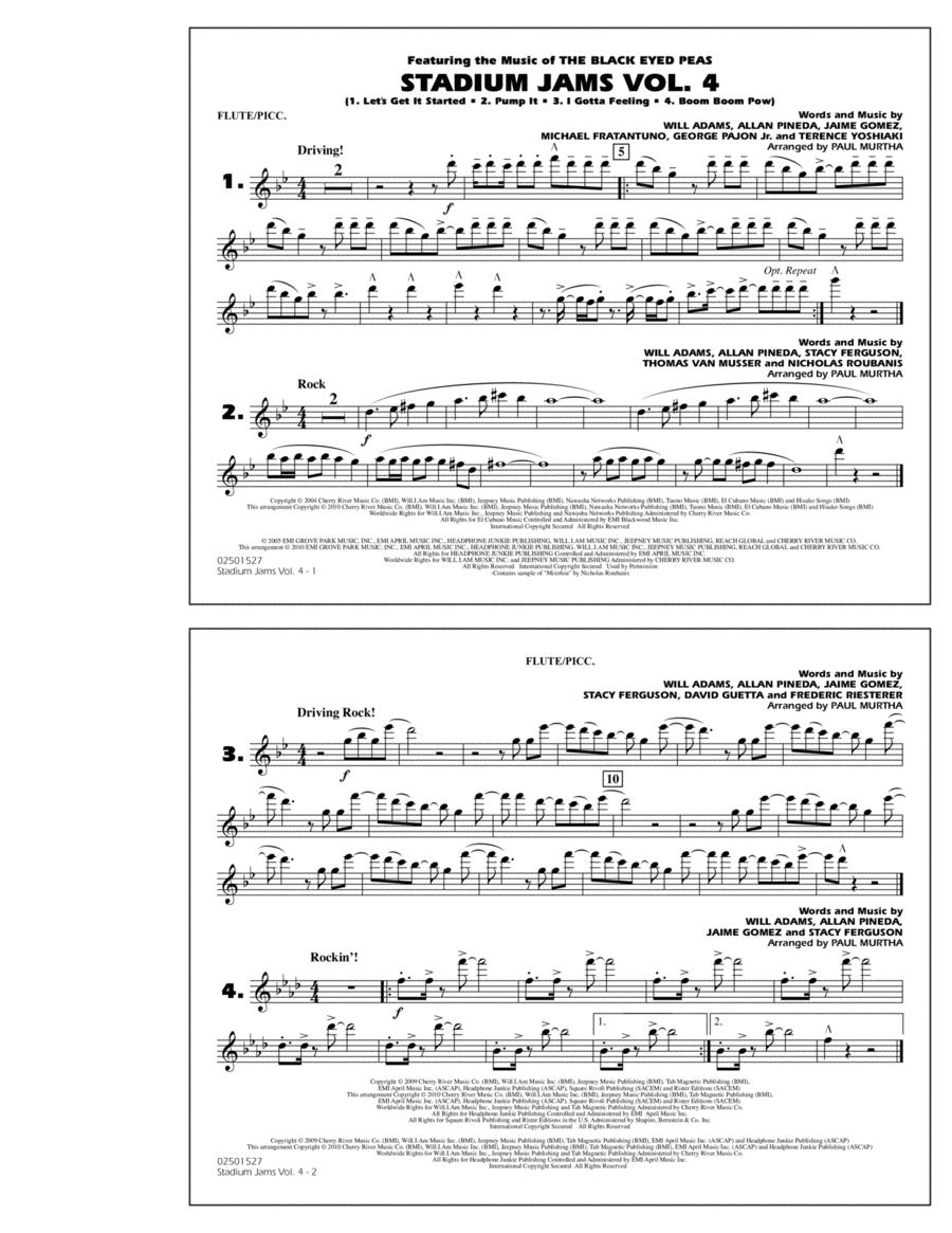 Stadium Jams: Vol. 4 - Flute/Piccolo