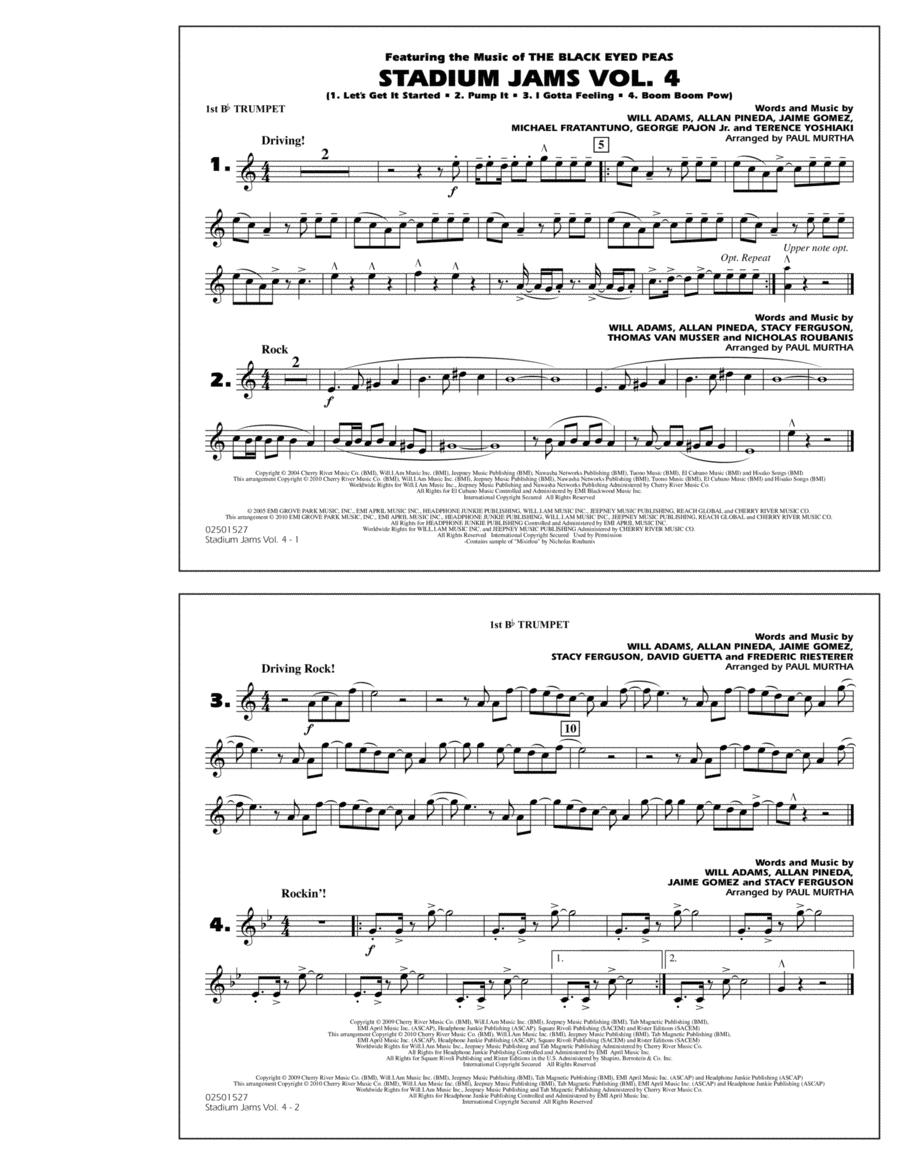Stadium Jams: Vol. 4 - 1st Bb Trumpet