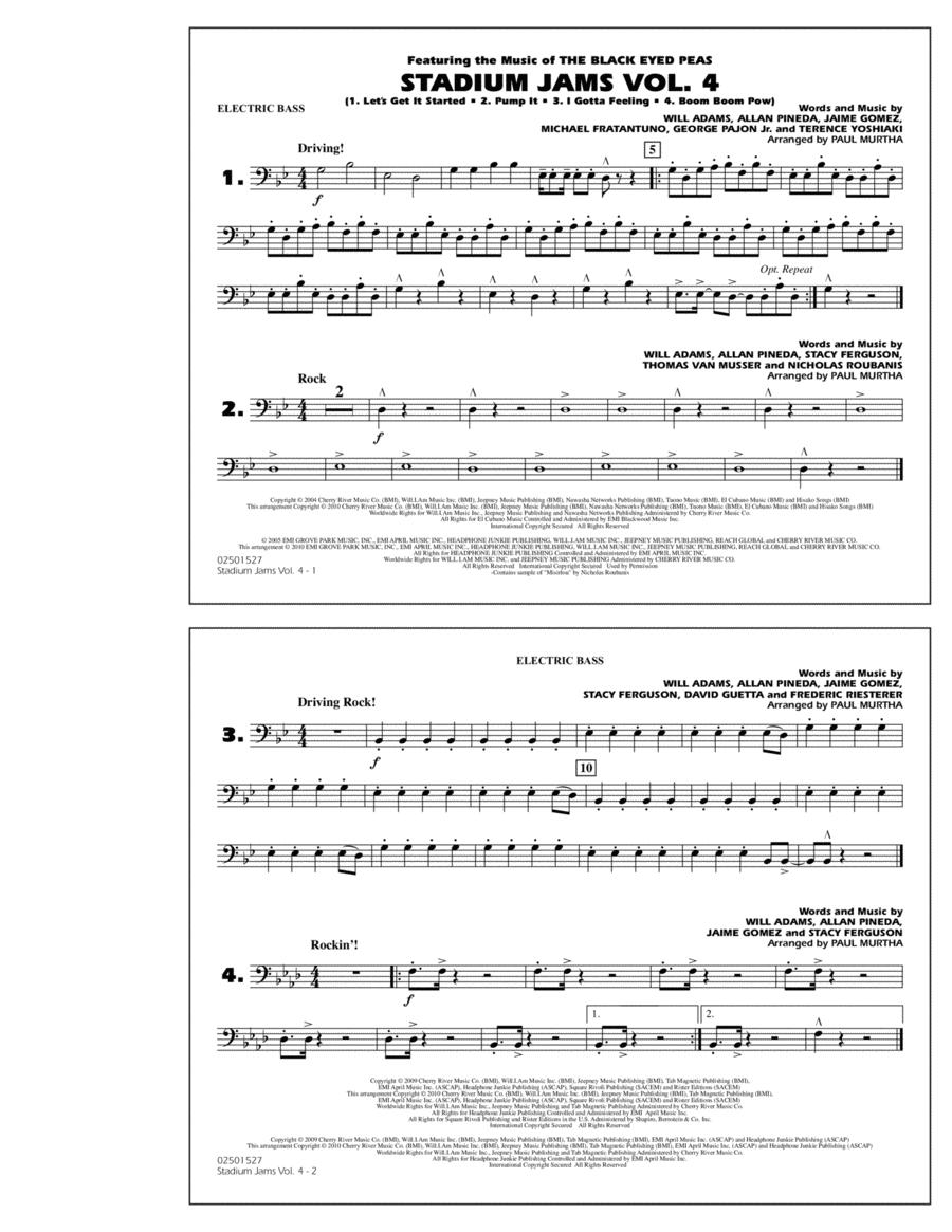 Stadium Jams: Vol. 4 - Electric Bass