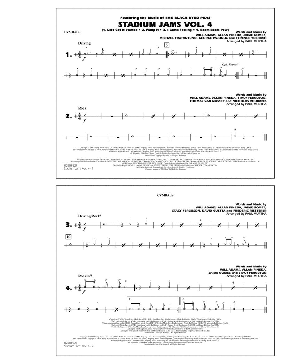 Stadium Jams: Vol. 4 - Cymbals