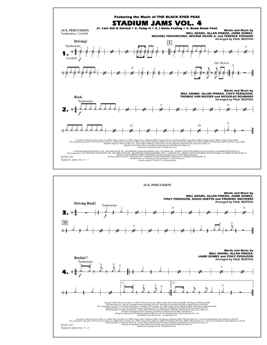 Stadium Jams: Vol. 4 - Aux Percussion