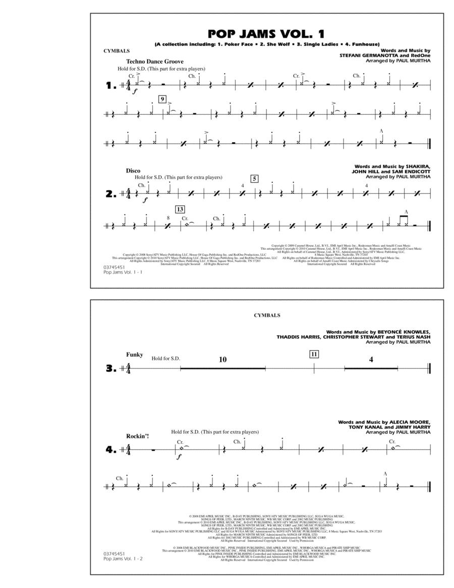 Pop Jams: Vol. 1 - Cymbals
