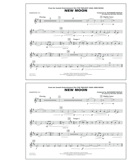 New Moon (The Meadow) - Baritone T.C.