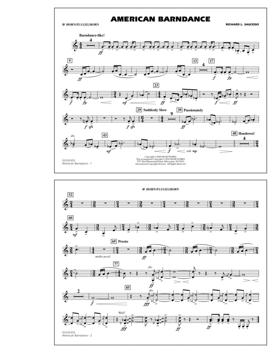 American Barndance - Bb Horn/Flugelhorn