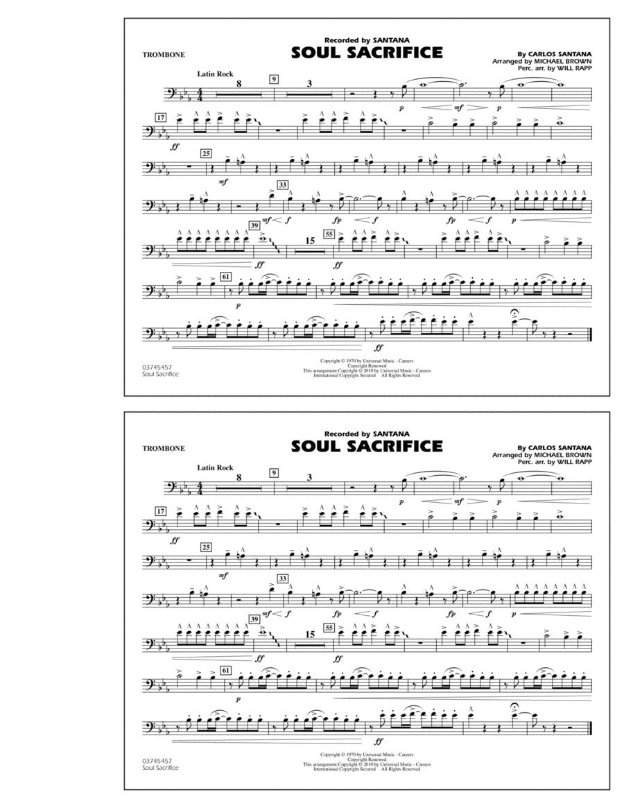 Soul Sacrifice - Trombone