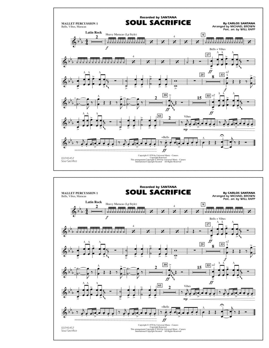 Soul Sacrifice - Mallet Percussion 1