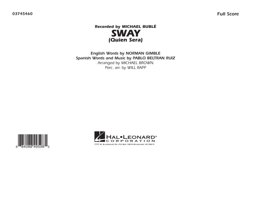Sway (Quien Sera) - Full Score