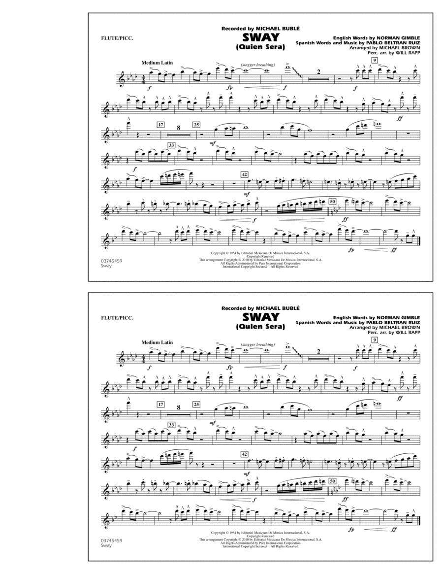 Sway (Quien Sera) - Flute/Piccolo