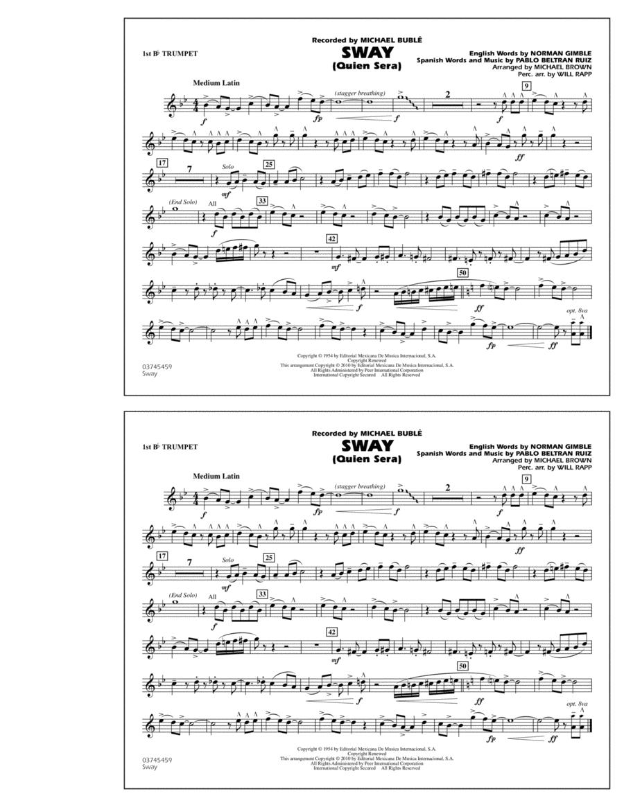 Sway (Quien Sera) - 1st Bb Trumpet