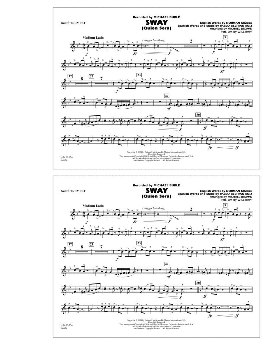 Sway (Quien Sera) - 2nd Bb Trumpet