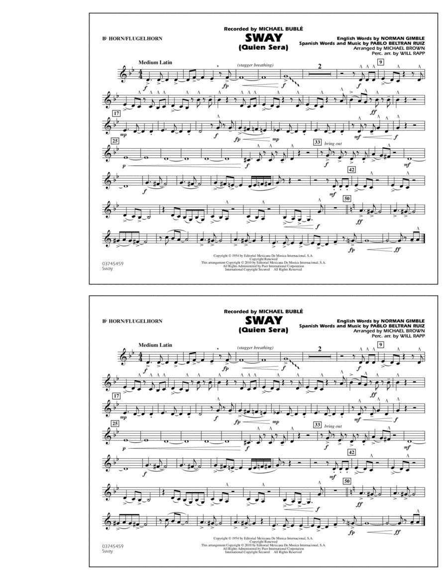 Sway (Quien Sera) - Bb Horn/Flugelhorn