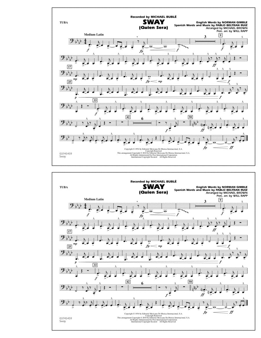 Sway (Quien Sera) - Tuba