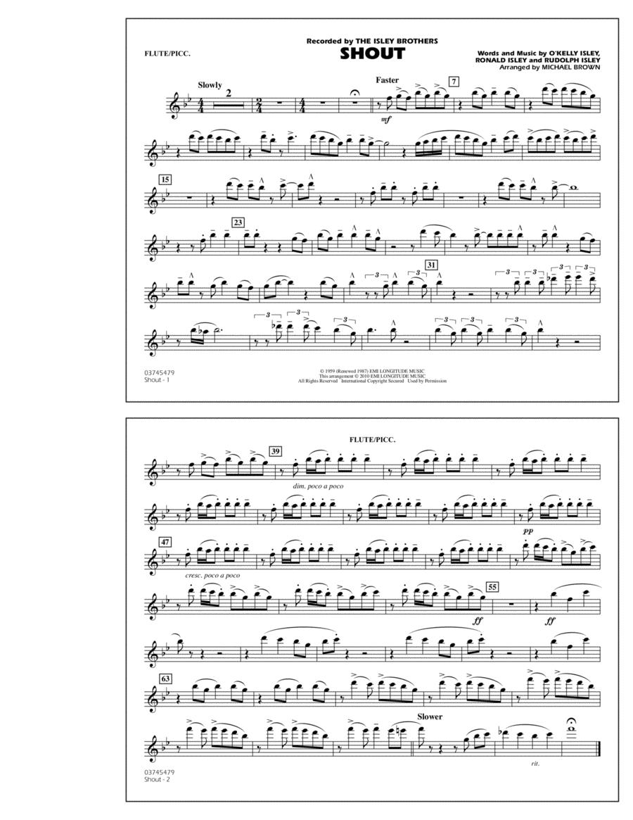 Shout - Flute/Piccolo