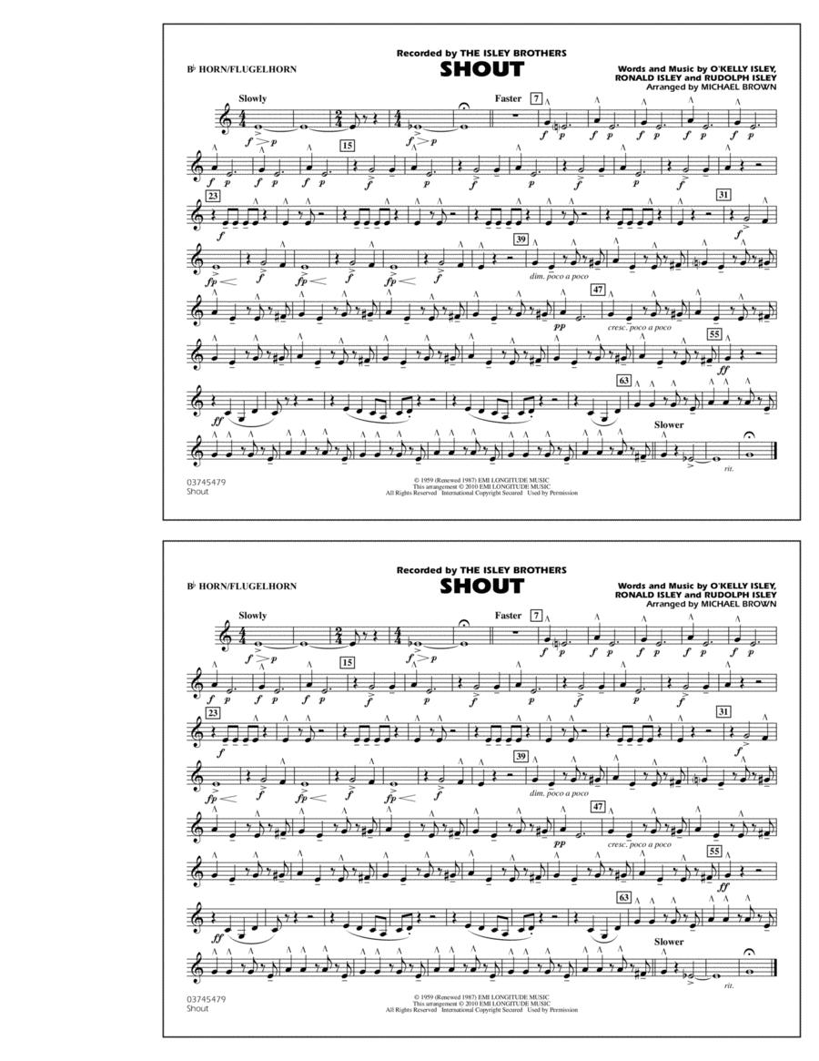 Shout - Bb Horn/Flugelhorn