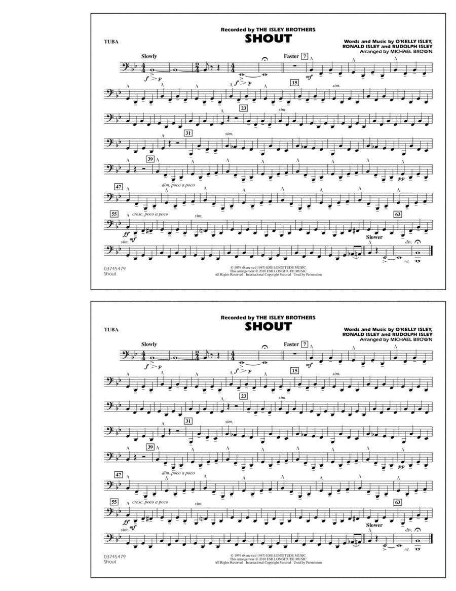 Shout - Tuba