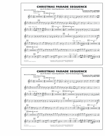 Christmas Parade Sequence - Bells/Xylophone