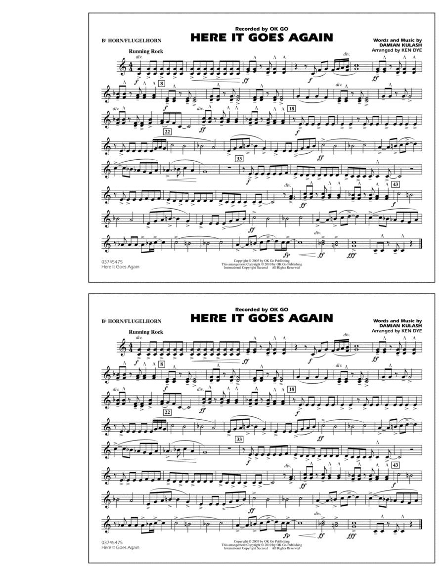 Here It Goes Again - Bb Horn/Flugelhorn
