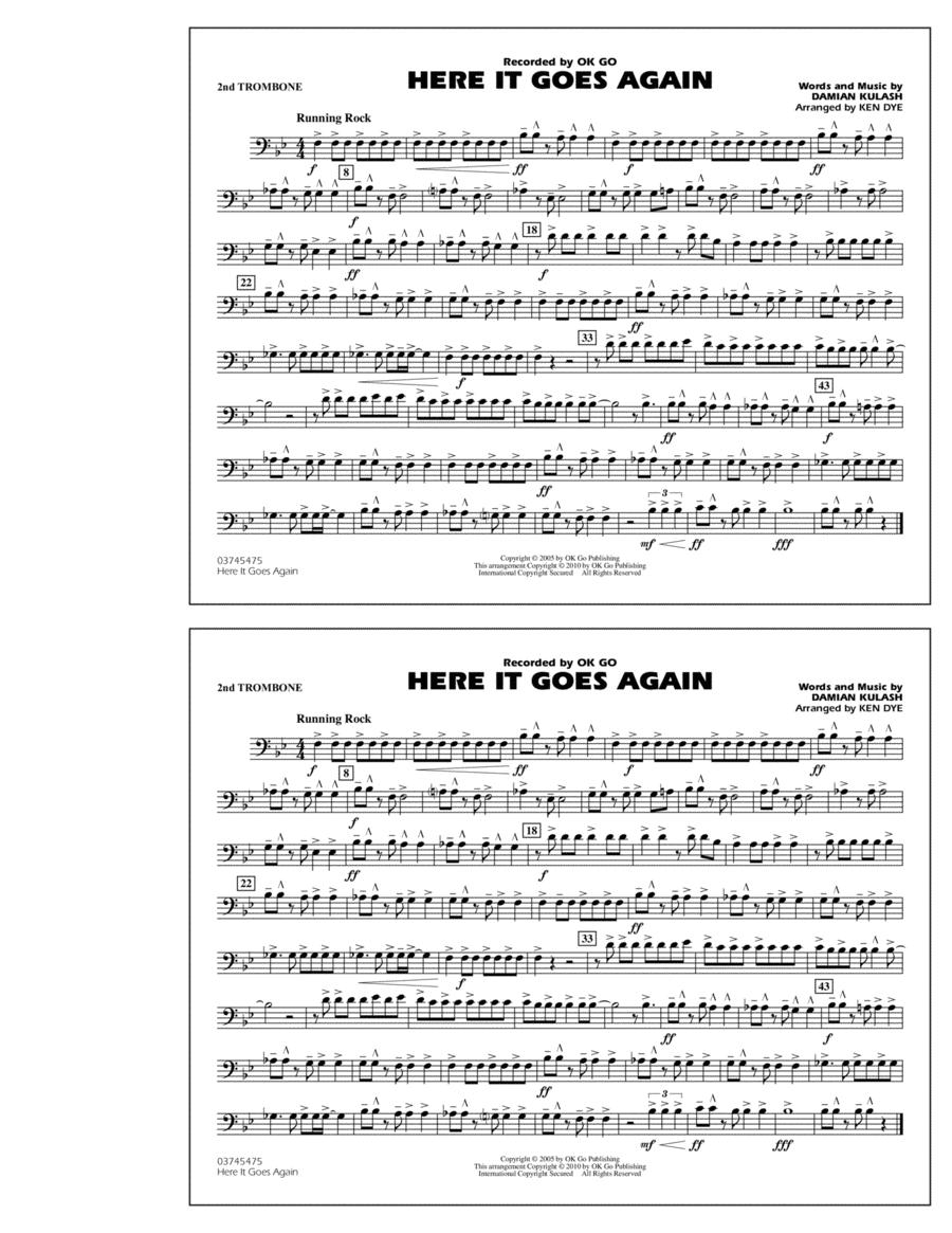 Here It Goes Again - 2nd Trombone
