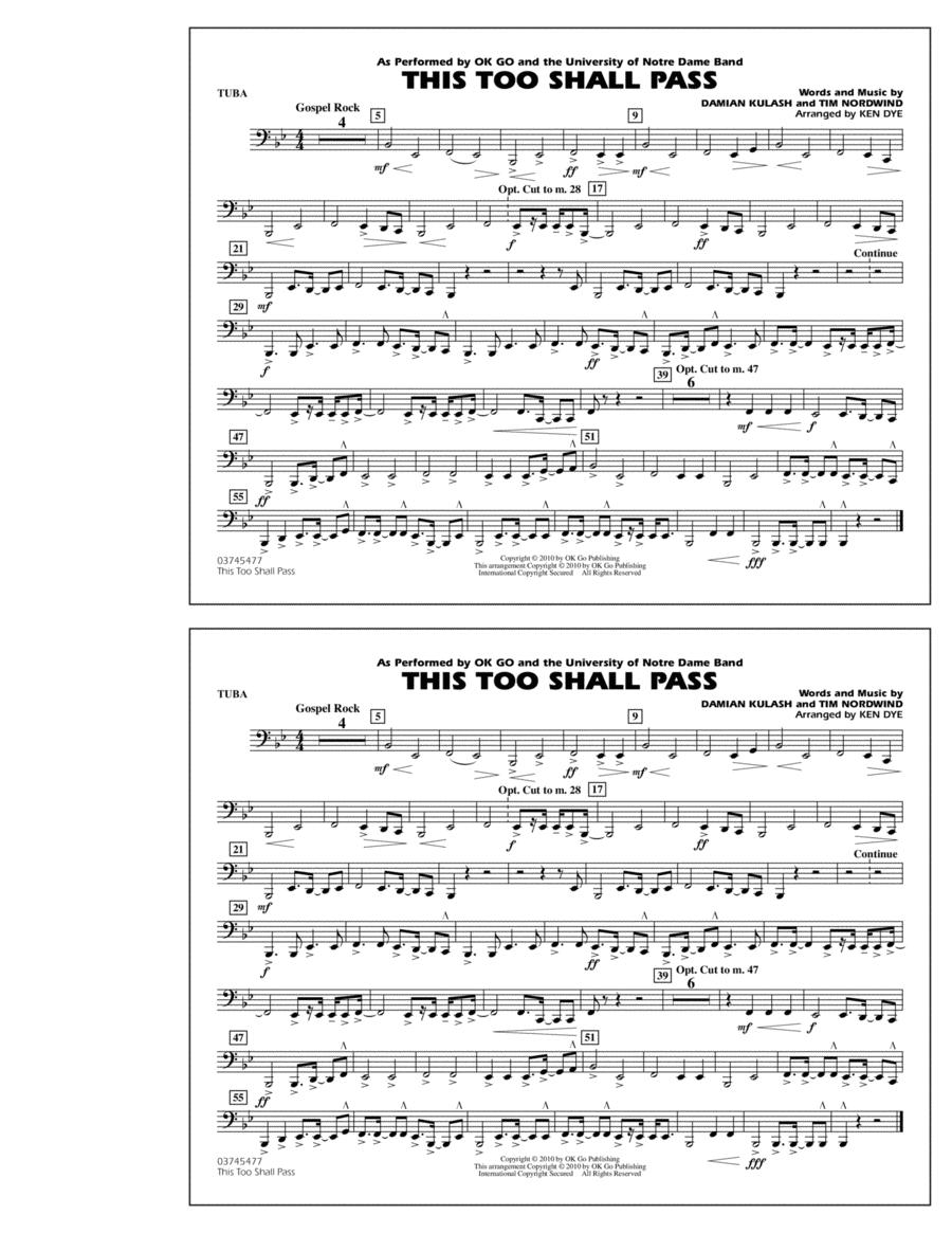 This Too Shall Pass - Tuba