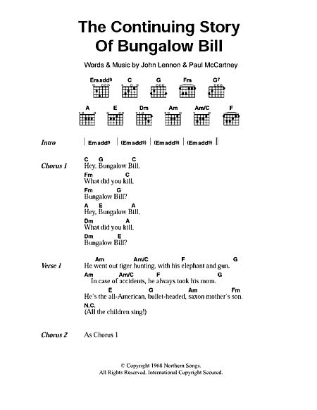 The Continuing Story Of Bungalow Bill