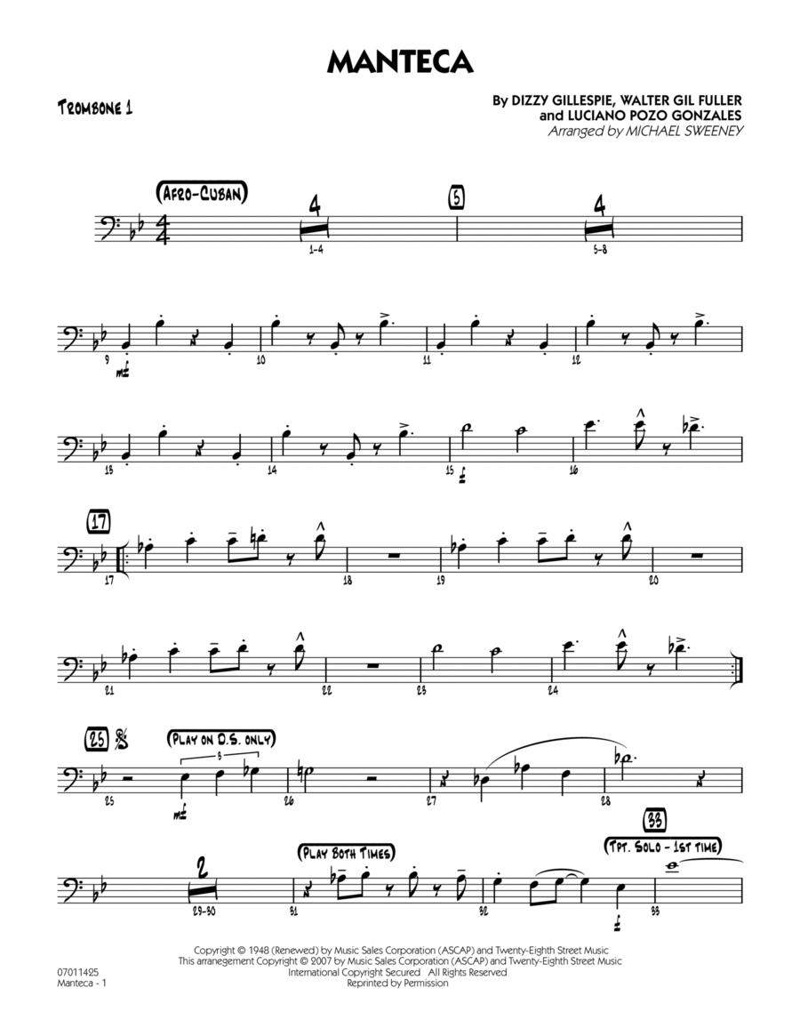 Manteca - Trombone 1