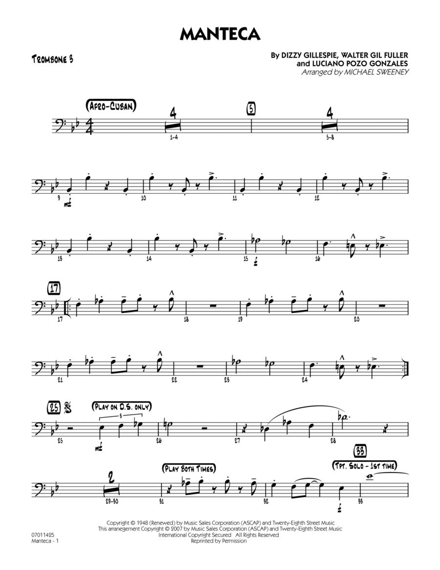 Manteca - Trombone 3