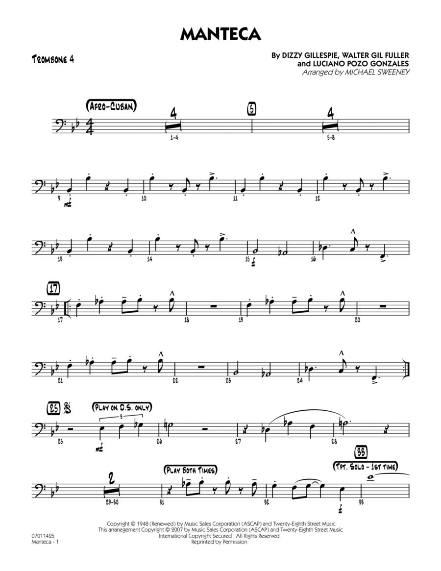 Manteca - Trombone 4
