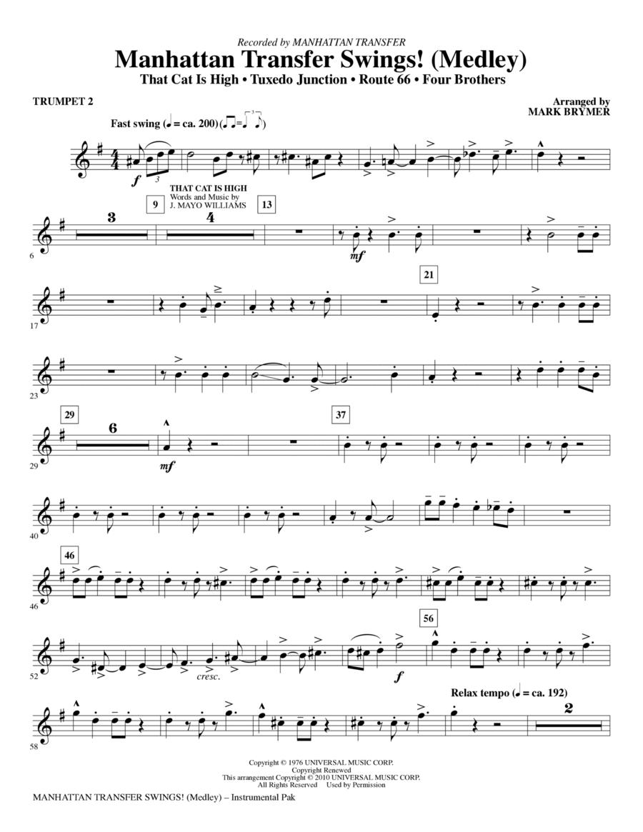 Manhattan Transfer Swings! (Medley) - Bb Trumpet 2