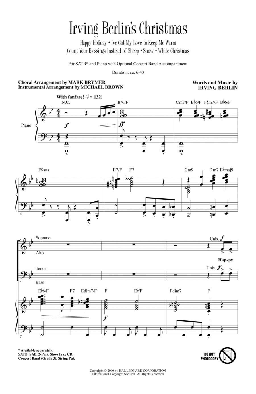 Irving Berlin's Christmas (Medley)