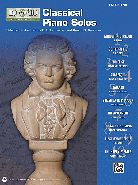10 for 10 Sheet Music Classical Piano Solos