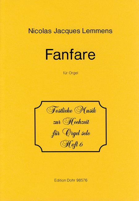 Fanfare fur Orgel D-Dur
