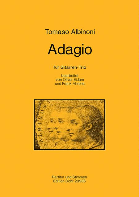Adagio fur Gitarren-Trio