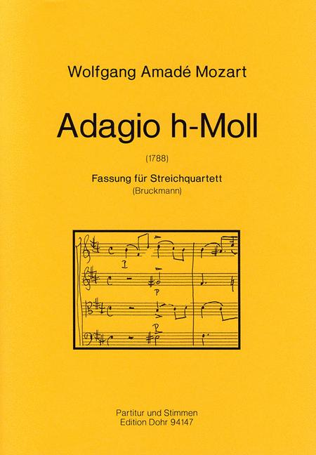 Adagio h-Moll KV 540