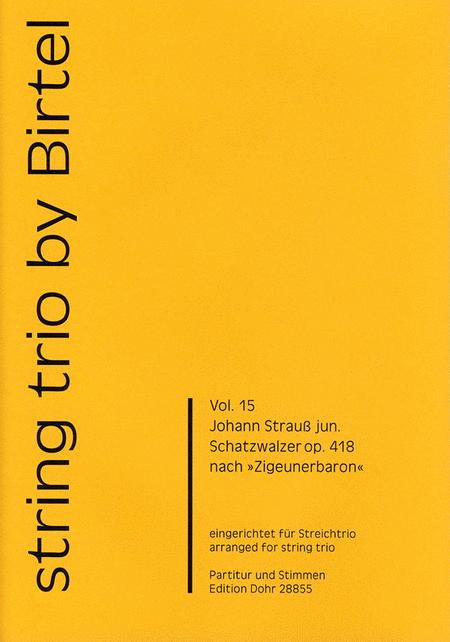 Schatzwalzer op. 418
