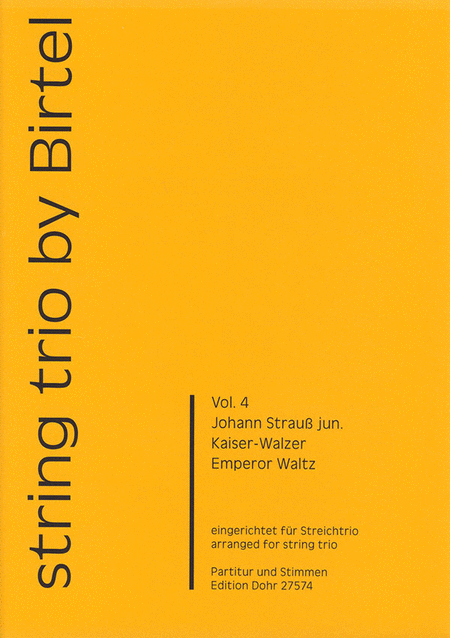 Kaiser-Walzer op. 437