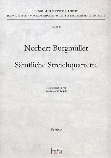 Samtliche Streichquartette