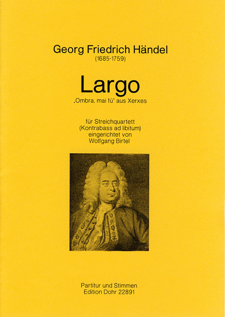 Largo fur Streichquartett F-Dur