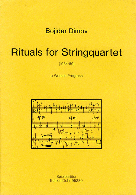 Rituals for Stringquartet