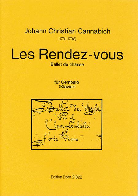 Les Rendez-Vous fur Cembalo oder Klavier