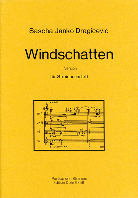 Windschatten fur Streichquartett