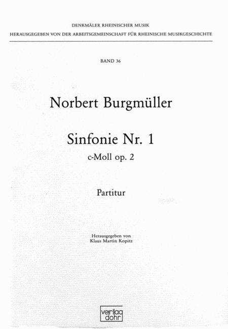 Sinfonie Nr. 1 c-Moll op. 2