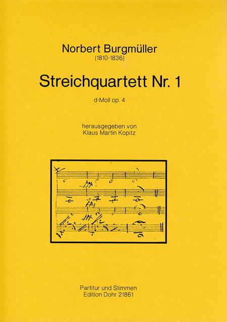 Streichquartett Nr. 1 d-Moll op. 4