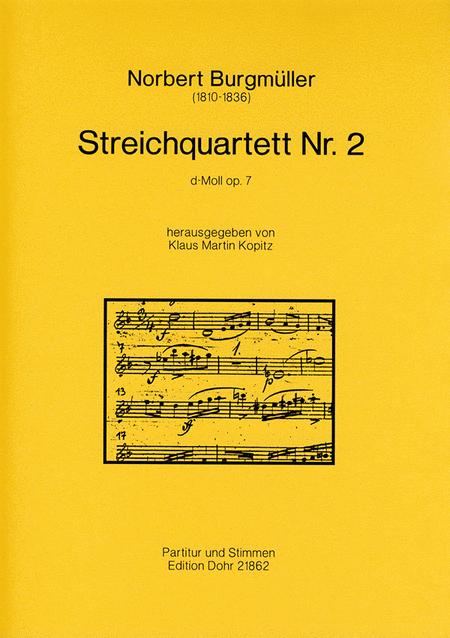 Streichquartett Nr. 2 d-Moll op. 7