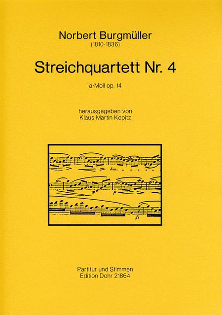 Streichquartett Nr. 4 a-Moll op. 14