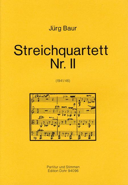 Streichquartett Nr. 2 (1941/46)