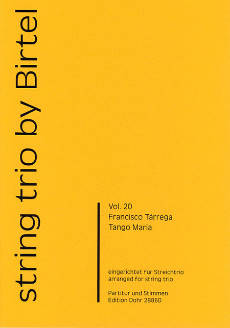 Tango Maria fur Streichtrio