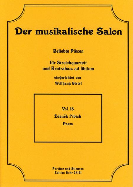 Poem fur Streichquartett