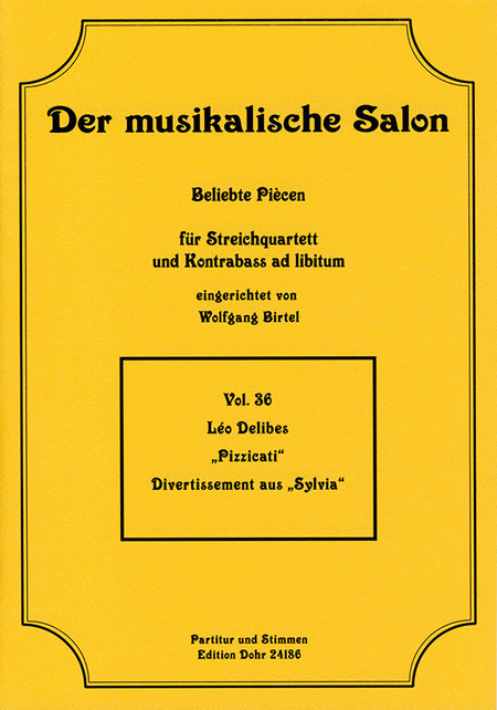 Pizzicati fur Streichquartett op. 257