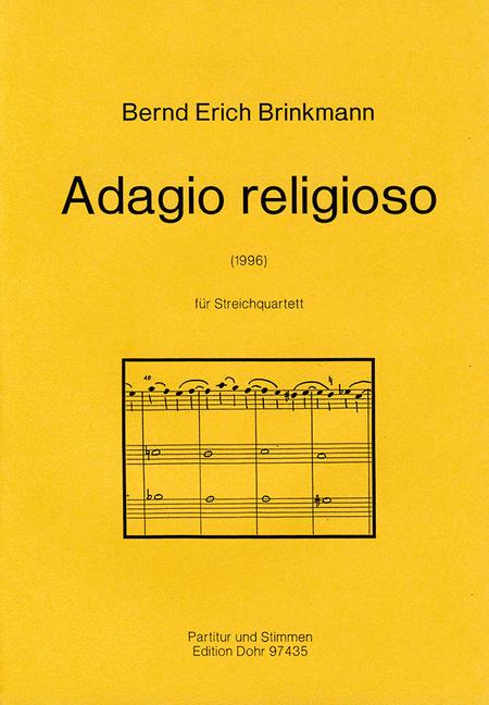 Adagio religioso fur Streichquartett